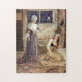 Cinderella and Fairy Godmother - Millicent Sowerby Puzzle