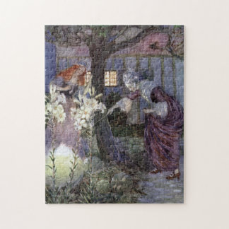Cinderella and Fairy Godmother - Millicent Sowerby Puzzles