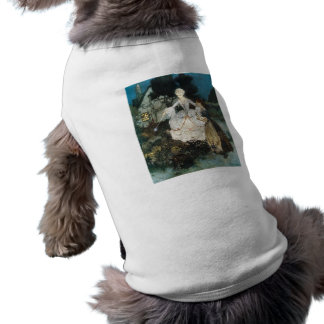 Cinderella and Fairy Godmother Sleeveless Dog Shirt