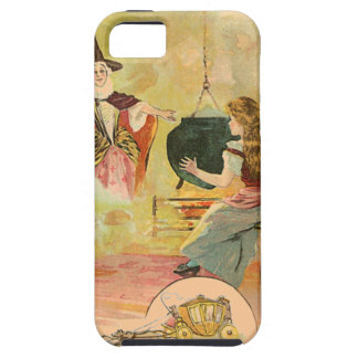 Cinderella And Her Fairy God Mother Case For The iPhone 5