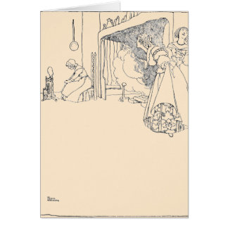 Cinderella and her Two Sisters Greeting Card