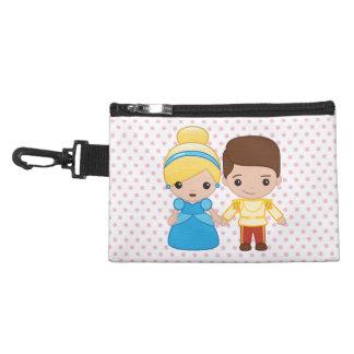 Cinderella and Prince Charming Emoji Accessory Bag