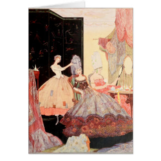 Cinderella and the Two Evil Ones Greeting Card