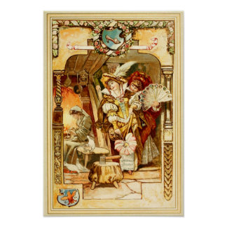 Cinderella and the Wicked Stepsisters Print
