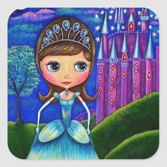 Cinderella at the Castle Tiara Ball Gown Square