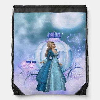 Cinderella Drawstring Backpack