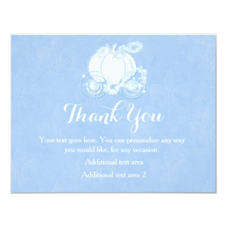 Cinderella Blue Royal Princess Carriage Card
