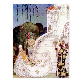 Cinderella by Kay Nielsen Postcard