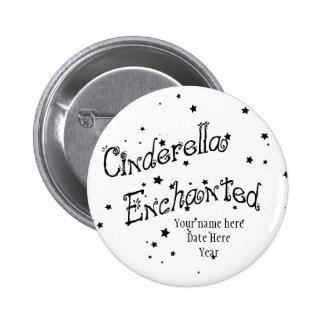 Cinderella Enchanted 6 Cm Round Badge