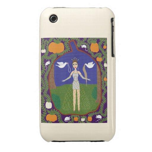 Cinderella (Fairy Tale Fashion #2) Case-Mate iPhone 3 Cases