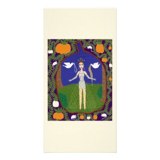 Cinderella (Fairy Tale Fashion #2) Custom Photo Card