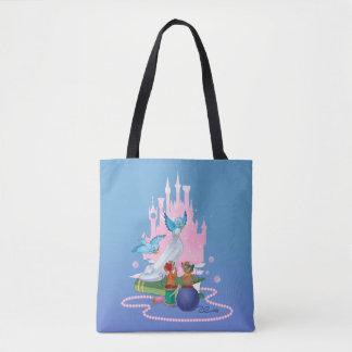 Cinderella | Glass Slipper And Mice Tote Bag