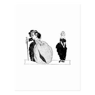 Cinderella & Her Snooty Stepsisters Postcard