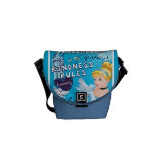 Cinderella - Kindness Rules Messenger Bags