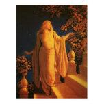 Cinderella, Maxfield Parrish Postcard