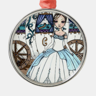 Cinderella Ornament by Maigan Lynn