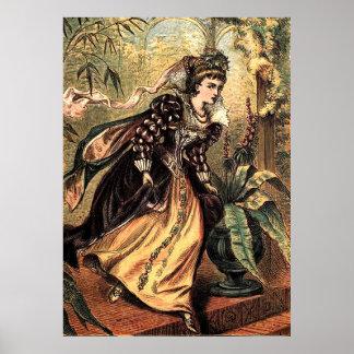 Cinderella Plate V Poster