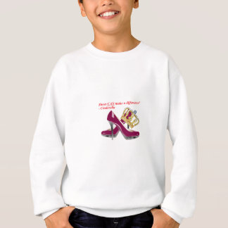 Cinderella shoes and crown transparent2.png sweatshirt