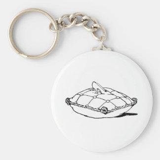 Cinderella Slipper Vintage Fairytale Art Basic Round Button Key Ring
