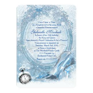 Cinderella Sweet 16 Card