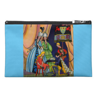 Cinderella, the prince and the glass slipper travel accessory bags