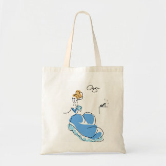 Cinderella Tote Budget Tote Bag
