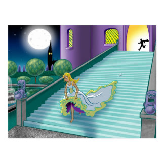 Cinderella's Ball Postcard