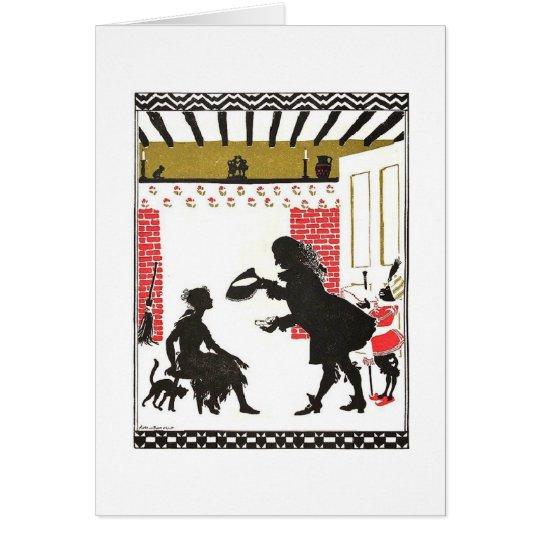 Cinderella's Glass Slipper (Blank Inside) Card