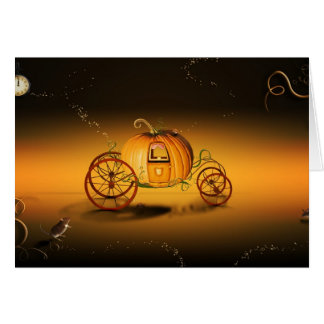 Cinderella's Pumpkin Card