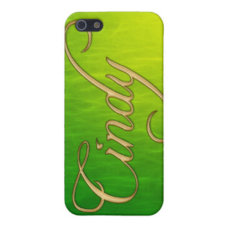 CINDY Name Branded iPhone Cover iPhone 5 Case