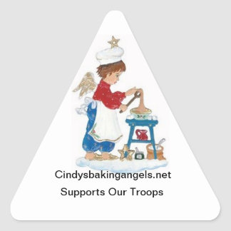 Cindy's Baking Angels Stickers!