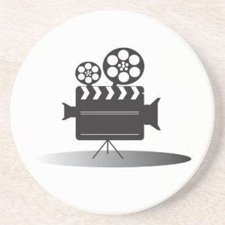 Cine Camera Drink Coaster
