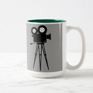 CINE CAMERA Two-Tone Mug