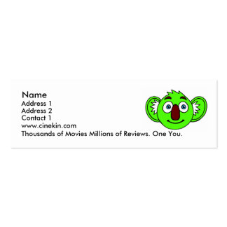 cinekin mini-cards pack of skinny business cards