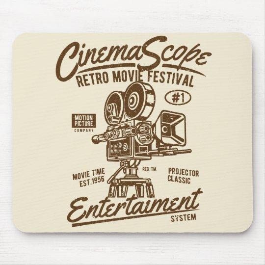 Cinema Scope Classic Retro Hollywood Camera Motion Mouse