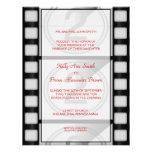 Cinema Small Rectangular Invitation