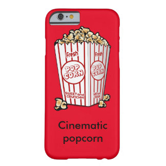 Cinematic popcorn barely there iPhone 6 case