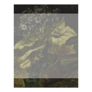 Cineraria by Vincent Van Gogh 21.5 Cm X 28 Cm Flyer