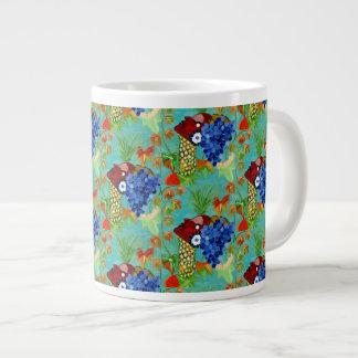 "Cineraria ""Mug"" by MAR Large Coffee Mug"