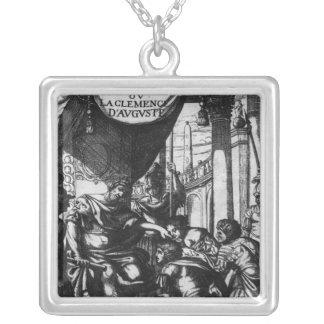 'Cinna ou la Clemence d'Auguste' Silver Plated Necklace