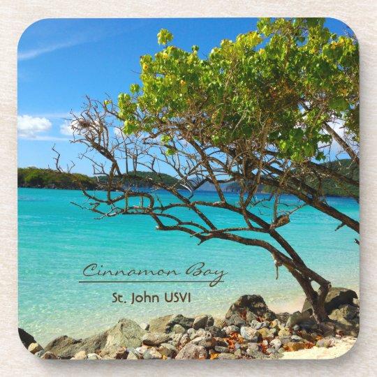 Cinnamon Bay St. John USVI Coasters - Set