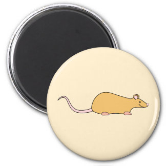 Cinnamon Color Pet Rat. Magnet