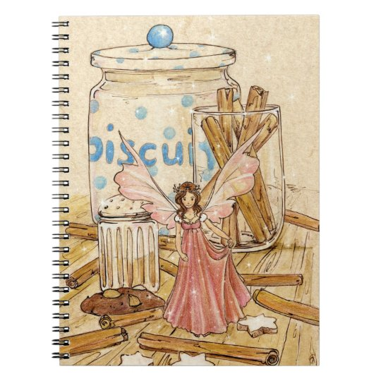 """Cinnamon Fairy"" Recipe Notebook"