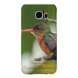 Cinnamon Hummingbird Samsung Galaxy S6 Cases
