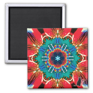 Cinnamon Kaleidoscope Magnet