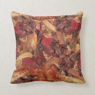 Cinnamon Potpourri Throw Pillow