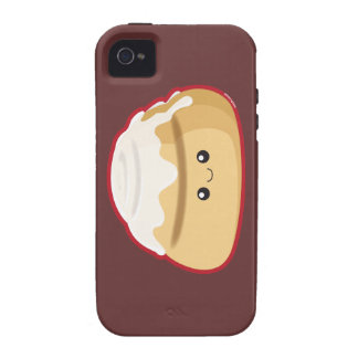 Cinnamon Roll Vibe iPhone 4 Cover