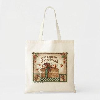 Cinnamon Swirl Bread Budget Tote Bag