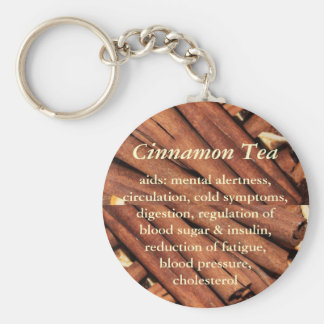Cinnamon Tea keychain