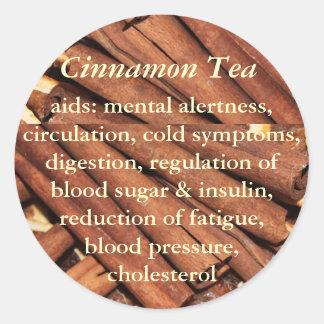 Cinnamon Tea stickers